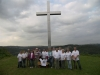 Gruppenfoto am Barbarakreuz